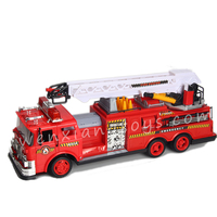 360 degree rotation fire engine guangdong toys fire rescue rc trucks car