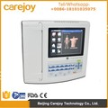 CE approved resting 12 Channel 12 lead 8 inch Electrocardiograph ECG Machine EKG monitor 1200G 300 Cases