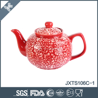 Colored 6cup hand painted chinese ceramic tea pot