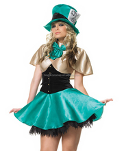 Factory wholesale Women Circus Clown Costume for Halloween Party