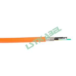 Rubber Sheath 4 Core Tinned Copper Wires Braiding Shielded Twisted Pair Cable for Control System