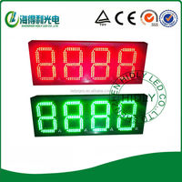 Small size dot matrix gas station led price sign