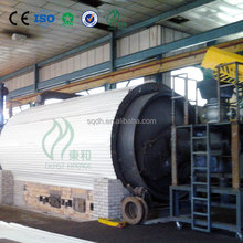 Hot sale used tyre recycling machinery with CE ISO certificate