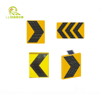 Road Safety 3M Reflective Film Solar Blinking Warning LED Traffic Sign