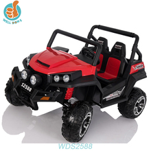 WDS2588 Baby Self Powered Ride On Mini Car Jeep Design Model With Suspension