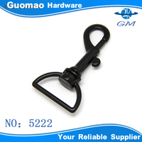 High quality black snap hook for briefcase