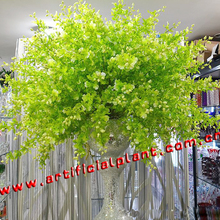 WF08121Wholesale Cheap Wedding White Vines Artificial Wisteria Flowers for Decorative
