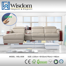 Unique Design American Style Hot Model Most Popular Hotel Leather Sofa
