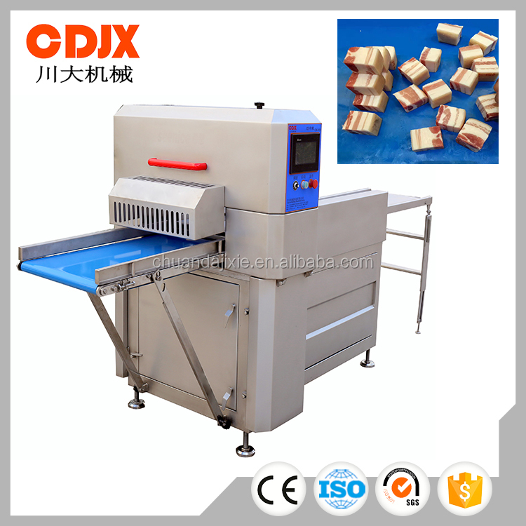 Stainless Steel Automatic Pork Beef Mutton Steak Cutting Chopping Machine