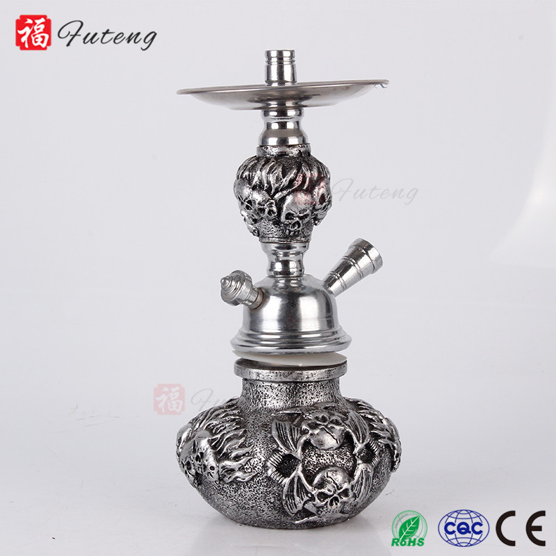 Best Sale Skull Hookah Shisha Arabic Resin Smoking Pipe Hookah