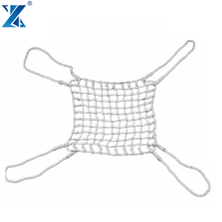 2017 New Product strong mesh cargo netting made by twist pp ropes