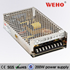 2 year warranty! power supply 48v 200w single output S-200-48 led power driver