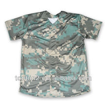faddish custom sublimation fashionable softball clothing new pattern