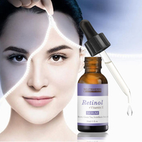 OEM provided natural face lift serum with pure Retinol + Vitamin E for acne skin care whitening treatment