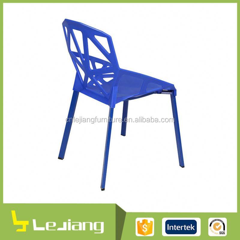 Colorido al por mayor durable moderno dise o simple y sillas de pl stico sillas de comedor - Sillas plastico diseno ...