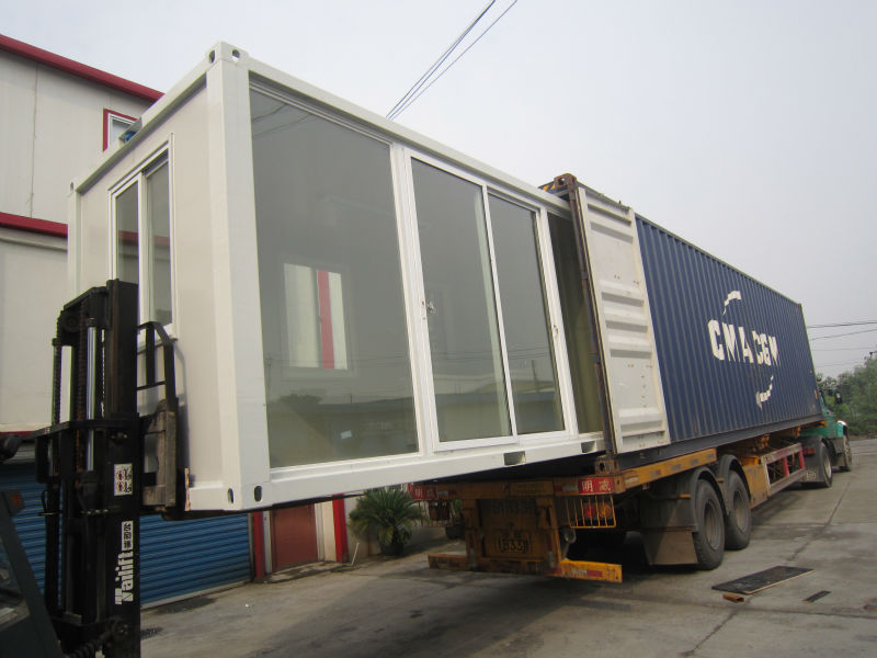 well-designed prefabricated movable container office