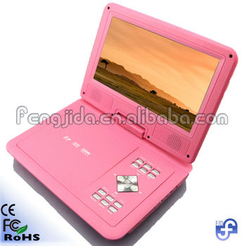 9 portable car dvd player with carry bag
