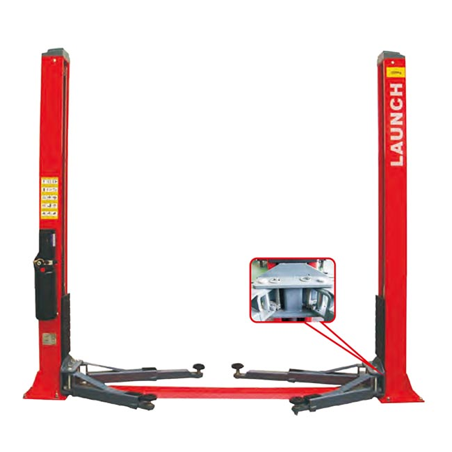 High quality and better value Launch TLT240SB hydraulic 2 pole car hydraulic ramps lifting jack used car lifts for sale