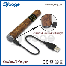 e hookah Boge 2014 NO.5 Cowboy rechargeable wholesale vaporizer pen