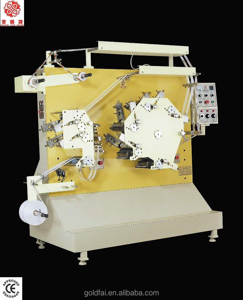 high quality printing machine for roll fabric label