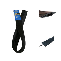 CE Certificate Rubber Small 1 Channel Black Floor Cable Cord Cover