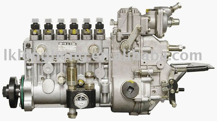 6 cylinders in-line A fuel injection pump