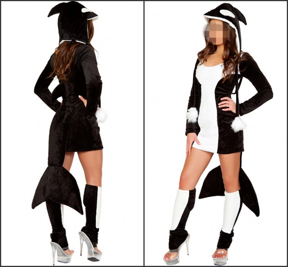 women whale halloween costumes 2015 - buy fish halloween costumes