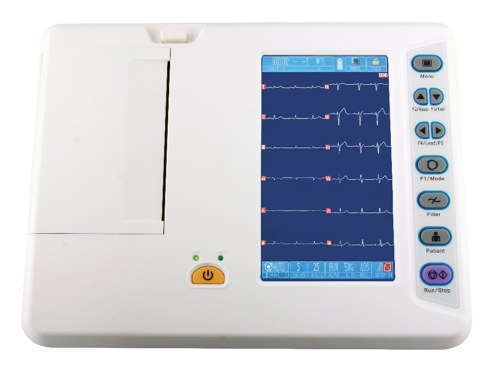 patient monitor china kenz ecg machine 3 channel