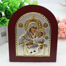 Virgin Mary Of Bethlehem Silver Icon