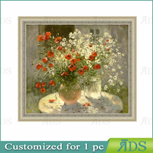 Designs Simple Flower Pot Canvas Vase Painting