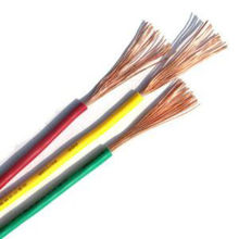 PVC Insulated Solid Single or mutil-core electrical copper cable wire cable electrico