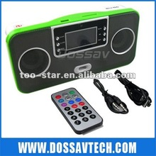 Multi-functional mini usb speaker with remote control for mp3/phone/computer