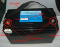 24V 50Ah LiFePo4 recharegeable battery with high performance pcm