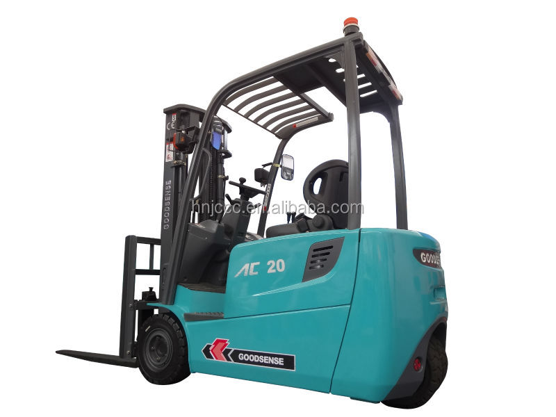 2 Ton 3 Wheel Electric Forklift Pallet Truck Dc Motor
