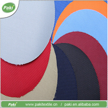 Wholesale single yarn PU 1680d polyester pvc coated fabricfor backpack, handbag