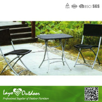 Contracted and Classics Rattan Bistro Dining Table Set