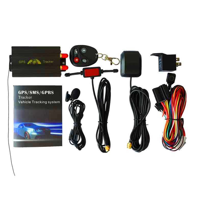 Car/Vehicle GPS Tracker Coban TK103B GSM GPRS Tracking System GPS103B Motorcycle Alarm Location Tracker Remote Control
