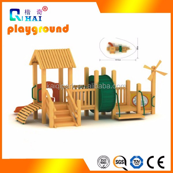 New Design Outdoor Kids Wooden Equipment wooden playsets