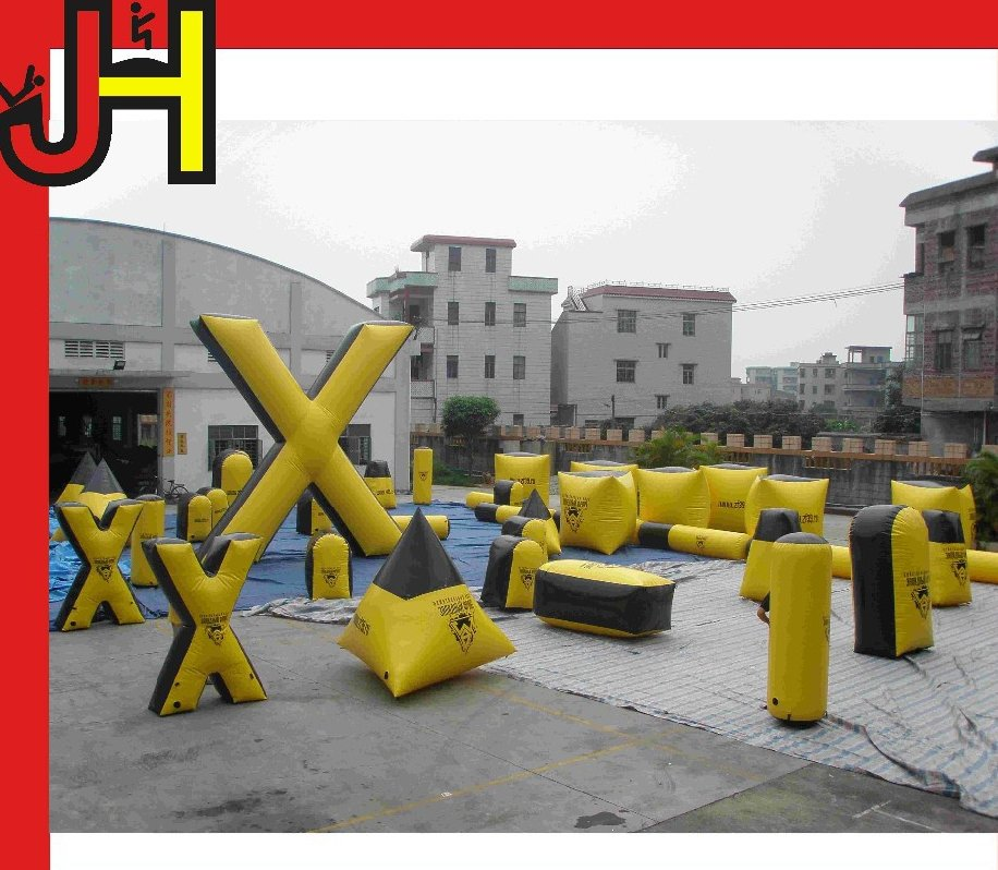 2014 Hot sale brand new extremely funny outdoor inflatable bunker paintball