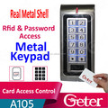 High Quality Real Metal Rfid Card Access Coantrol with Metal Keypad JTL-A105
