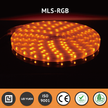MIT Flexible 12V 10 x 10mm Decorative Lightings IP67 3020 AMBER Micro LED Strip Light