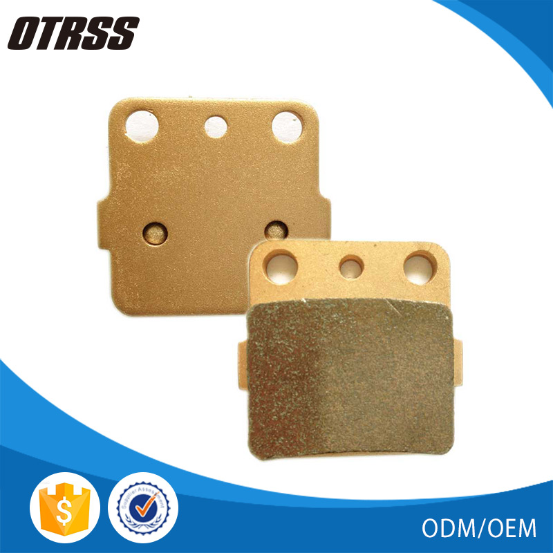 Stable friction properties FA84 golden sintered ATV disc brake pads price for husqvarna