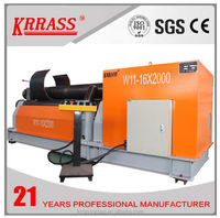 three rollers rolling machine 6mm stainless steel plate roller bending machine