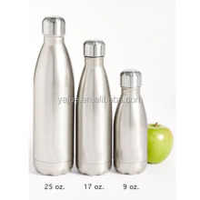 bottle hot water templock Insulated Double Walled Stainless Steel vacuum bottle sold empty