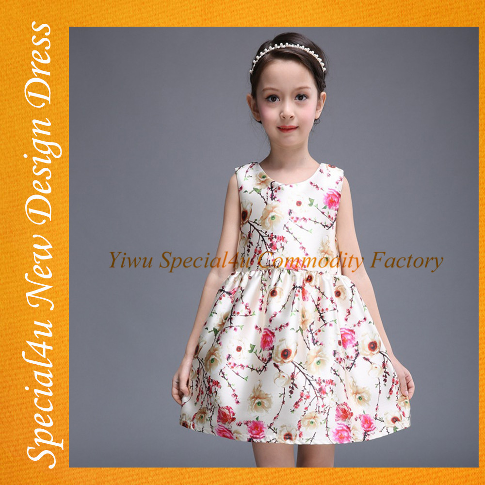 Manufacturer Wholesale Childrens Clothing Children Kids Party Dress Fashion Small Girl Dress SHLY-546