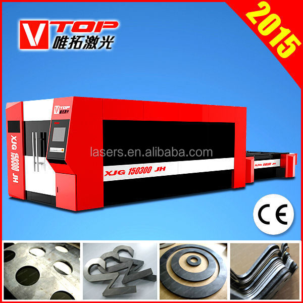 2000W 1000W 500W Sheet Metal Cutting Fiber Laser Machine
