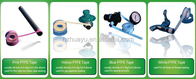 high quality high density 12mm 19mm ptfe sealing tape