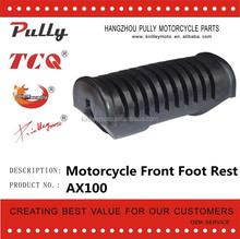 AX100 Motorcycle Rubber Parts High Quality Motorcycle Footrest Rubber For Sale