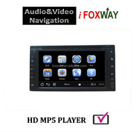 2 DIN CAR DVD PLAYER FOR UNIVERSAL USE