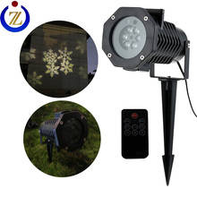 Holiday time lights warm white led projector light for outdoor decoration